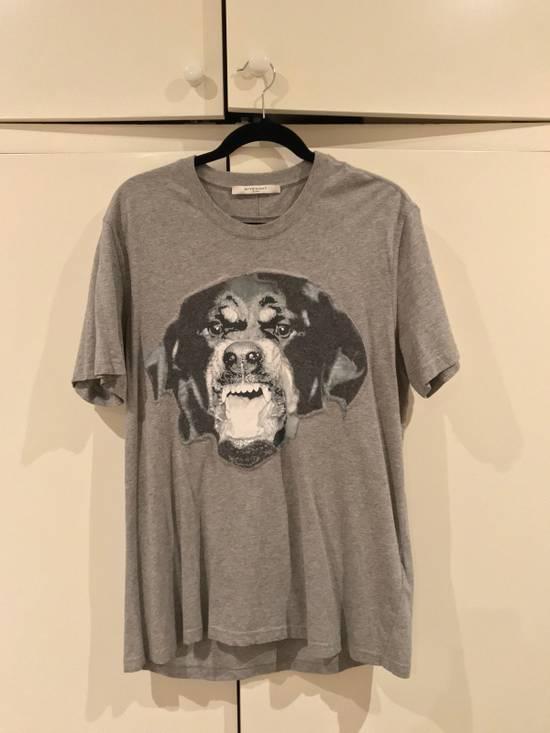 Givenchy Grey Rottweiler Tshirt Size US L / EU 52-54 / 3