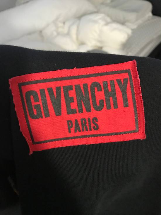 Givenchy Distressed Logo Patch Hoodie (Black) Size US L / EU 52-54 / 3 - 1