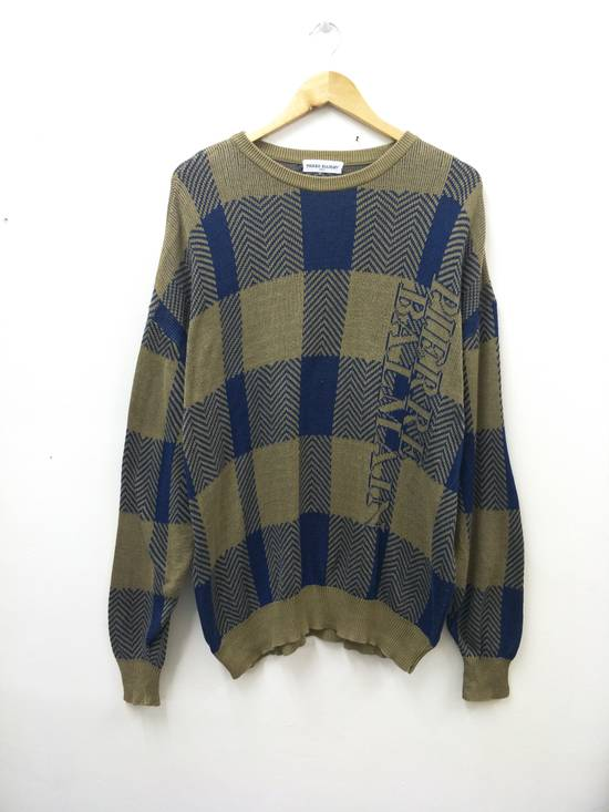 Balmain Pierre Balmain Paris Knitwear Spellout Vintage Size US L / EU 52-54 / 3