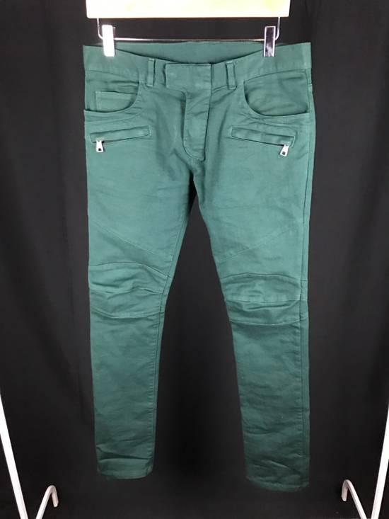 Balmain Dark Green Pants Size US 30 / EU 46