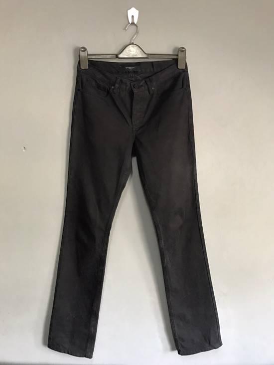 Givenchy BLACK INDIGO DYED GIVENCHY WRINKLED EFFECT DENIM Size US 28 / EU 44 - 1