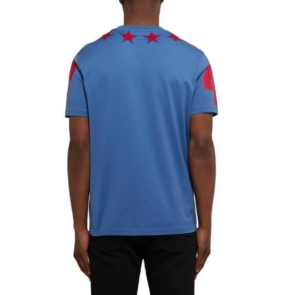 Givenchy Cuban-Fit 5 Star-Appliquéd Cotton-Jersey T-Shirt Size US L / EU 52-54 / 3 - 4