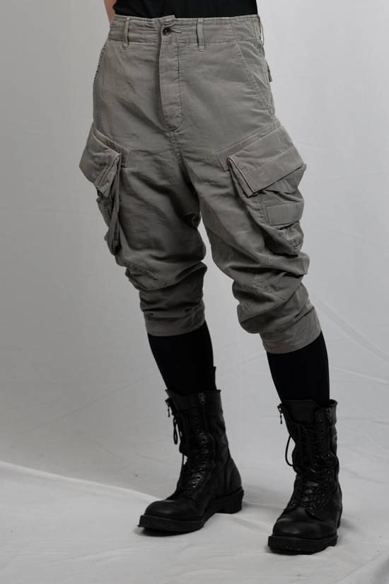 Julius SS12 'Edge' Grey Gasmask Cargo Cropped Pants Size US 31 - 1