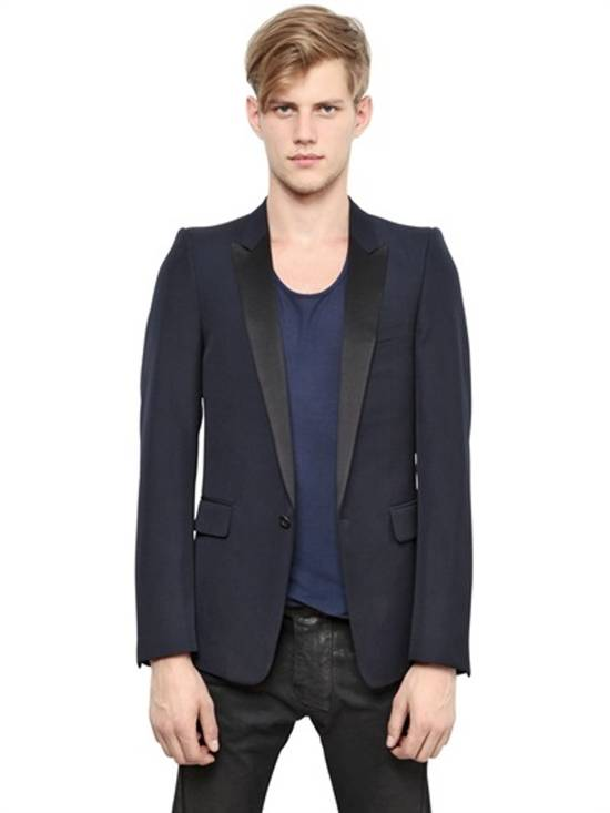 Balmain 2015 black tuxedo jacket Size 38R - 7
