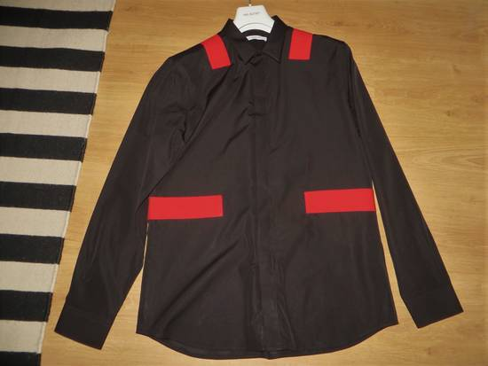Givenchy Red bands shirt Size US XL / EU 56 / 4 - 9