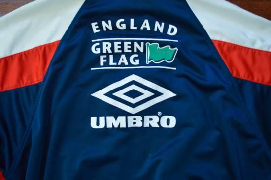 Umbro Vintage 90s Umbro England Track Jacket Size US L / EU 52-54 / 3 - 3