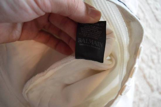 Balmain Balmain Authentic $1149 White Biker Jeans Size 31 Brand New With Tags Size US 31 - 5