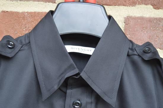 Givenchy Silk Blend Military Sleeveless Shirt Size US S / EU 44-46 / 1 - 2