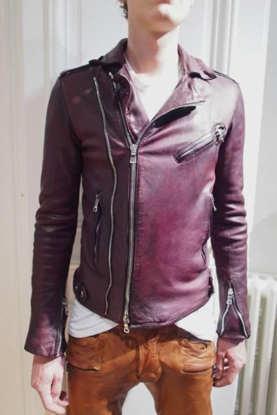 Balmain AW13 leather biker pants Size US 30 / EU 46 - 8