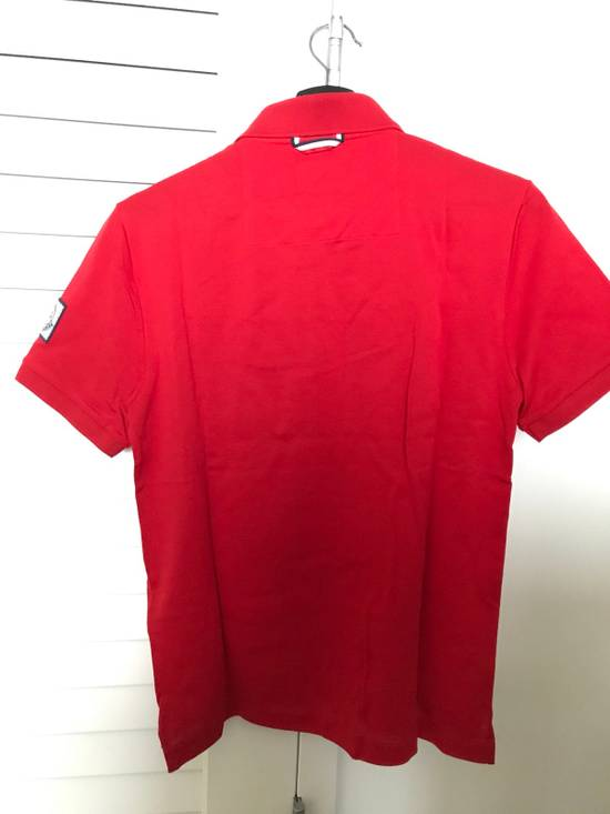 Thom Browne Red Cotton Polo Size US XS / EU 42 / 0 - 3