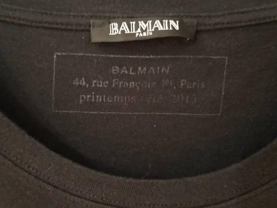 Balmain Black Elephant T-Shirt Size US S / EU 44-46 / 1 - 1
