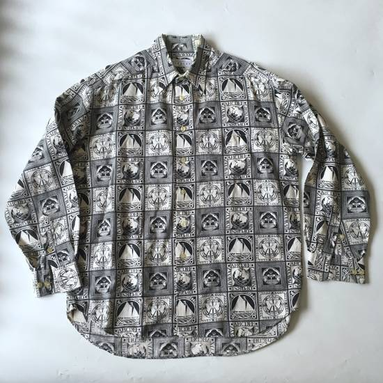 Givenchy Last Drop Before Delete!!! Vintage Givenchy Print Shirt Size US M / EU 48-50 / 2