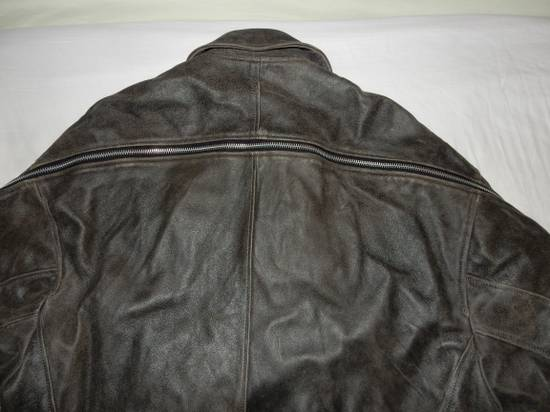 Julius Julius _ 7 oversized Biker Leather Jacket Size US L / EU 52-54 / 3 - 3