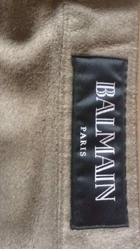 Balmain Balmain Jeans Suede/Leather texture effect Size US 31 - 1