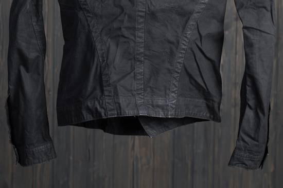Julius high neck asymmetric zip waxed denim jacket Size US S / EU 44-46 / 1 - 8