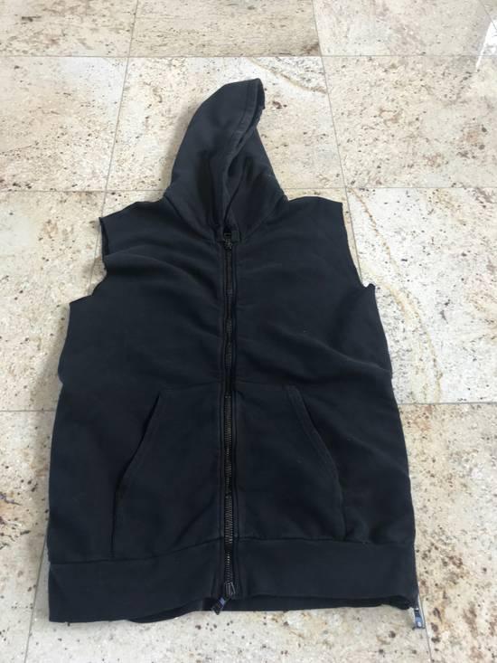 Balmain Sleeveless Black Hoodie Size US L / EU 52-54 / 3 - 5