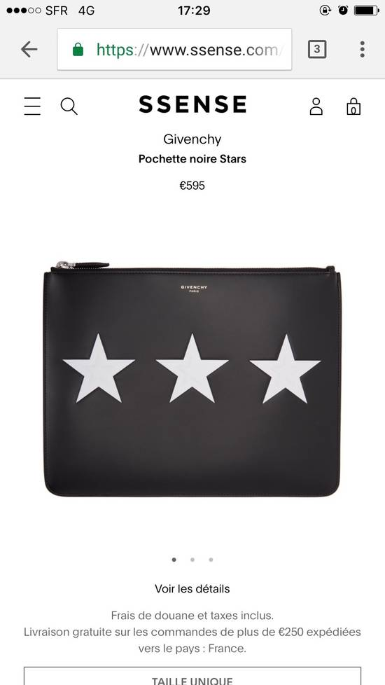 Givenchy Givenchy Pouch Stars Size ONE SIZE