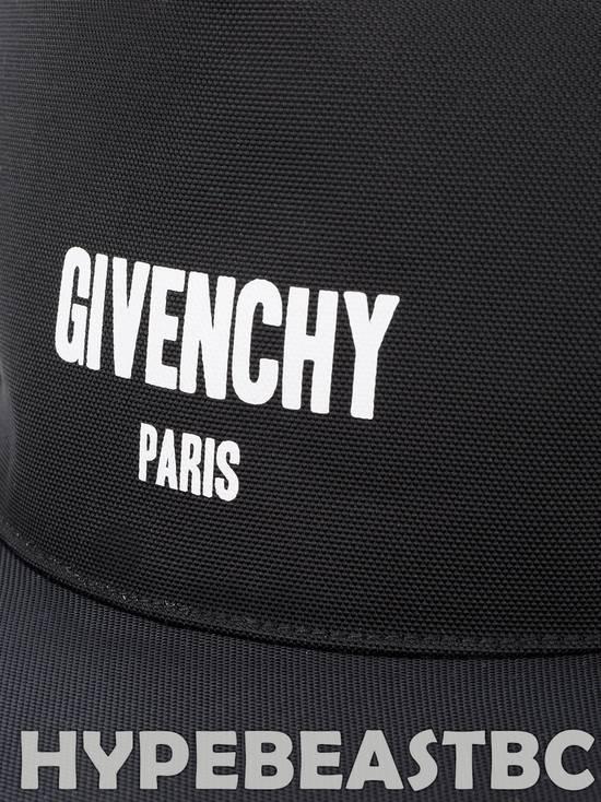 Givenchy Givenchy Paris Logo Cap Baseball Hat, Black, NWT Size ONE SIZE - 2