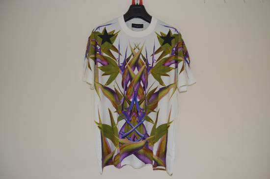 Givenchy White Birds of Paradise T-shirt Size US L / EU 52-54 / 3