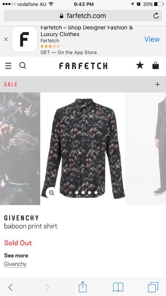 Givenchy Baboon prints shirt Size US M / EU 48-50 / 2