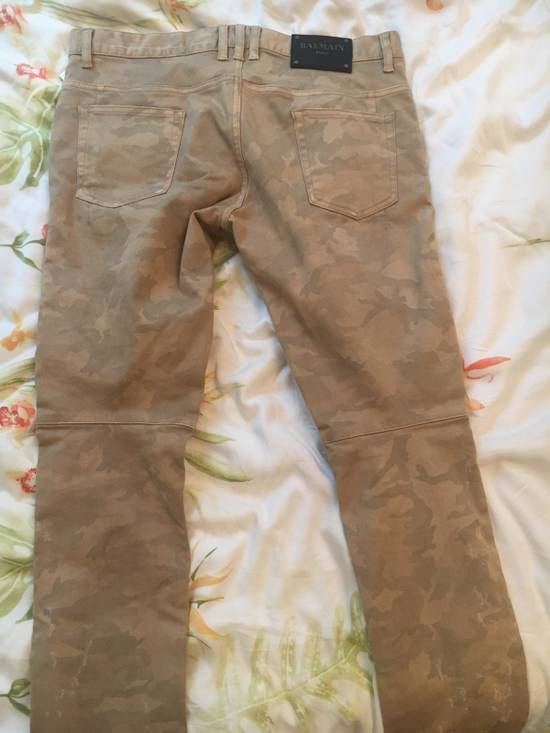 Balmain Balmain Camouflage Biker Jeans Size US 34 / EU 50 - 1