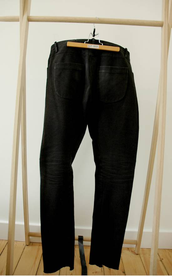 Label Under Construction Woven Inside One Cut Pants Size US 32 / EU 48 - 4
