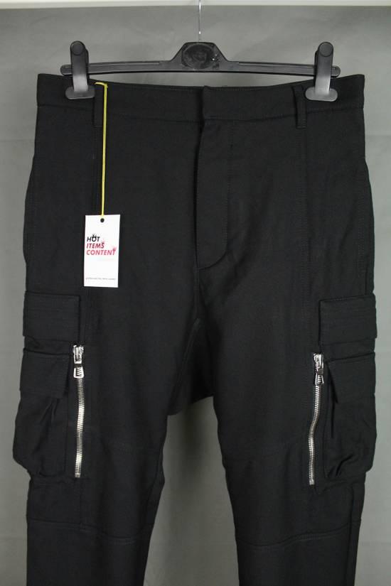 Balmain Balmain X H&M Cargo Biker Wool Pants Size EUR30 Size US 30 / EU 46 - 1