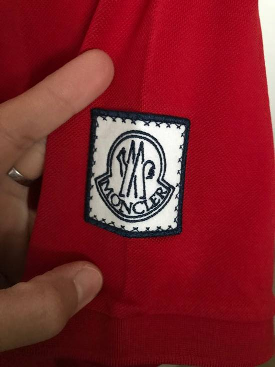 Thom Browne Red Cotton Polo Size US XS / EU 42 / 0 - 2