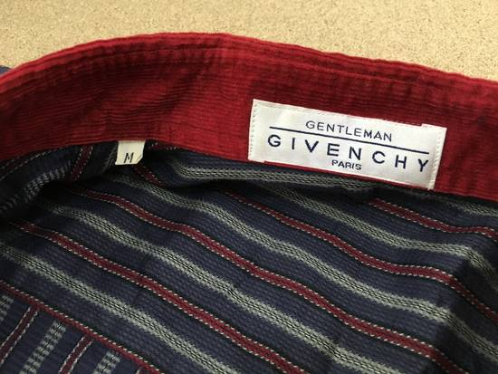 Givenchy Gentleman Givenchy Indigo Red Stripes Casual Shirt Made in Italy Size US M / EU 48-50 / 2 - 9