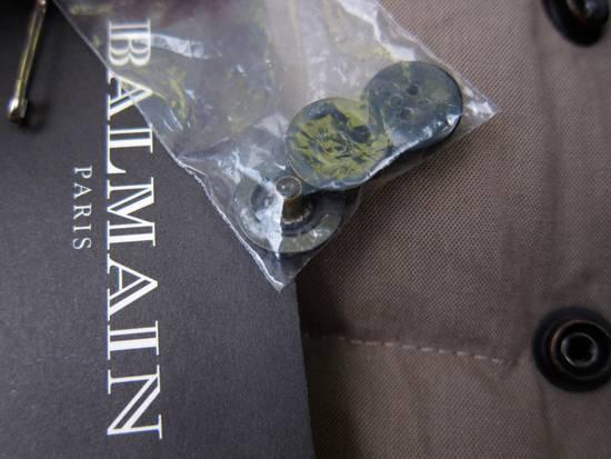 Balmain AW11 Khaki Military Down Jacket sz. 44 Size US XS / EU 42 / 0 - 14