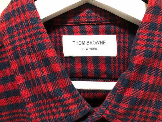 Thom Browne Thom Browne Flannel Shirt Jacket - TB 5 - Kanye Size US XL / EU 56 / 4 - 3