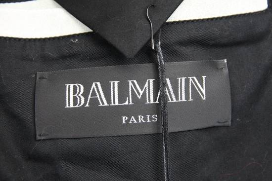Balmain $4k Balmain White Leather Perfecto Biker Jacket 48 46 Size US M / EU 48-50 / 2 - 7