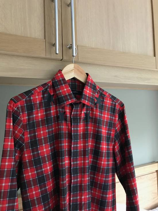Givenchy Red Check Star shirt Size US S / EU 44-46 / 1 - 2