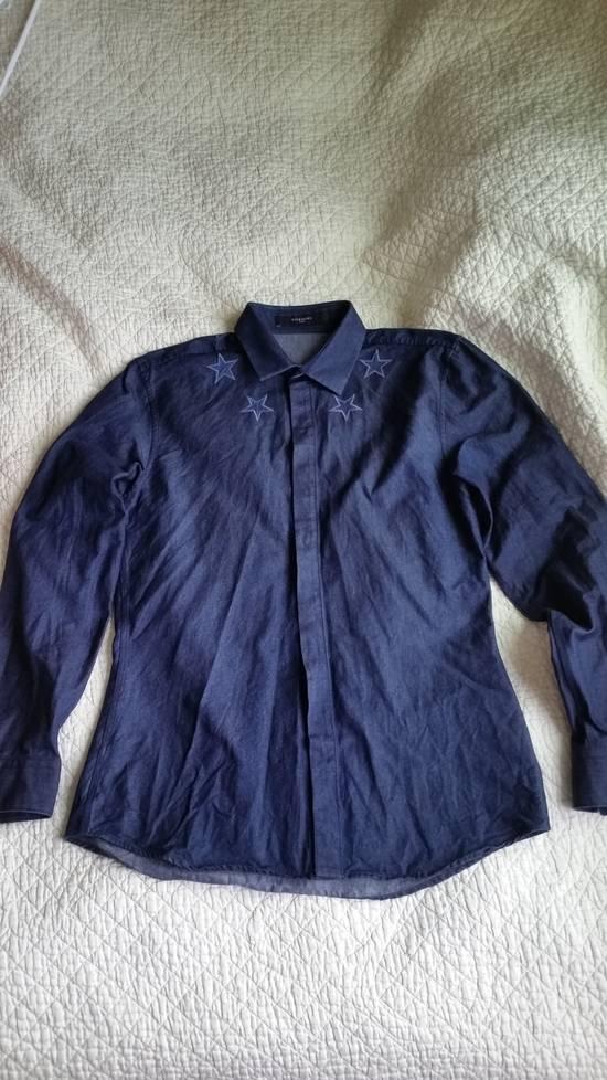 Givenchy Star Embroidered Denim Jacket Size US M / EU 48-50 / 2 - 5