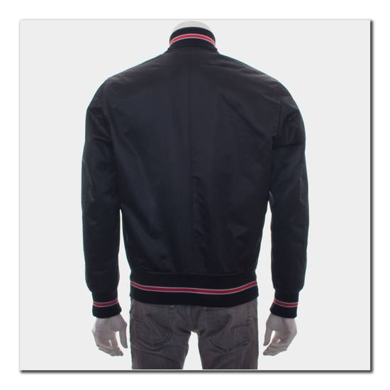 Givenchy 2100$ Black Bomber Jacket With Contrasted Bands Size US M / EU 48-50 / 2 - 1