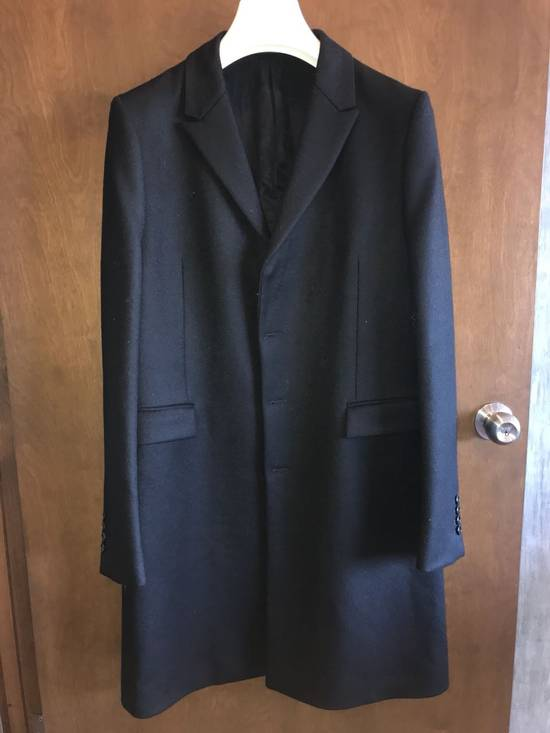 Givenchy FW12 Two Piece Black Wool Peacoat sz 48 double layer coat Riccardo Tisci Size US M / EU 48-50 / 2 - 8