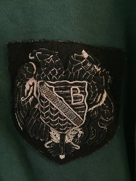 Balmain SS12 Forest Green Badge Hoodie size Large Size US L / EU 52-54 / 3 - 2