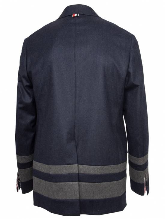 Thom Browne Paneled Chapel Jacket- Flannel Size US S / EU 44-46 / 1 - 6
