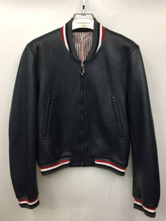Thom Browne Thom Browne Leather Jacket Size US L / EU 52-54 / 3