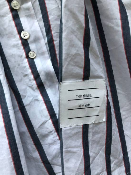 Thom Browne Striped Button Up Size US L / EU 52-54 / 3 - 1