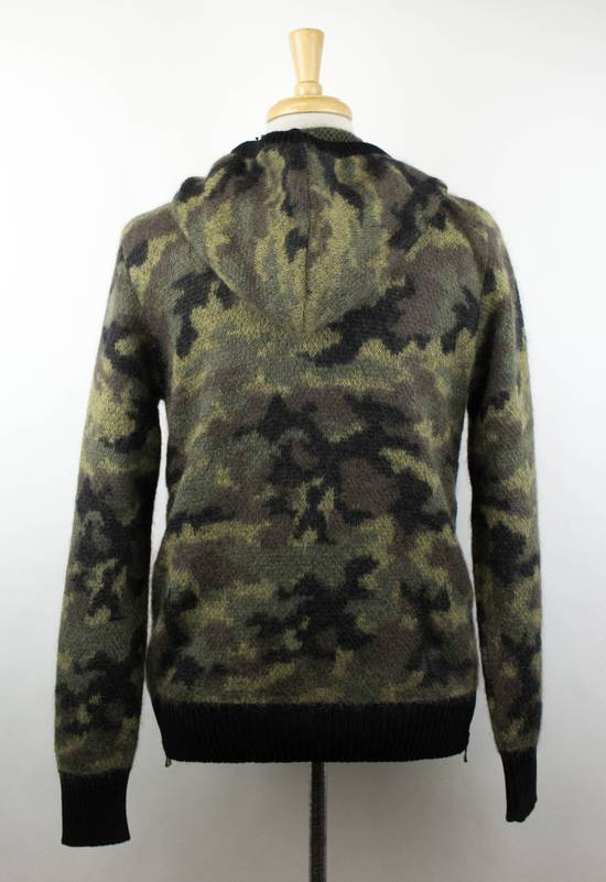 Balmain Camouflage Wool Blend Zip Up Hoodie Size S Size US S / EU 44-46 / 1 - 3