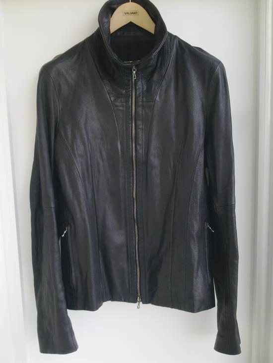 Julius Julius high collar Leather Jacket Size US L / EU 52-54 / 3 - 2