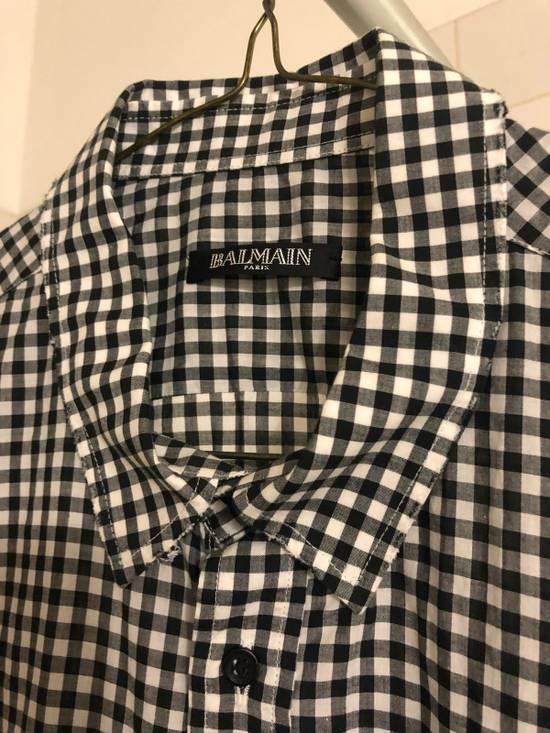 Balmain Balmain Logo Short Sleeve Button Up Size US M / EU 48-50 / 2 - 2
