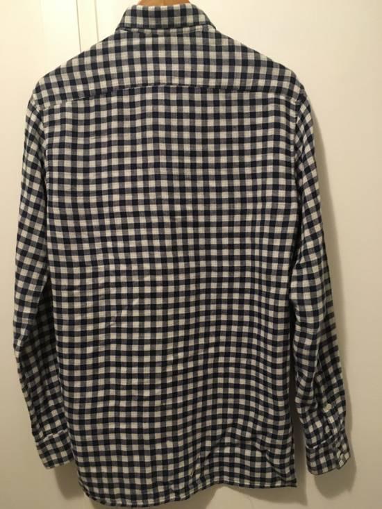 Balmain AW11 Blue Gingham Shirt Size US S / EU 44-46 / 1 - 5