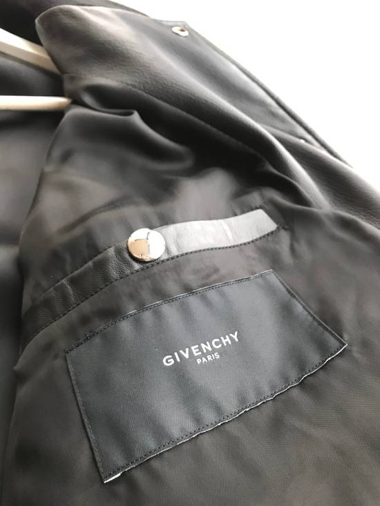 Givenchy Star Patch Leather Bomber Size US M / EU 48-50 / 2 - 2