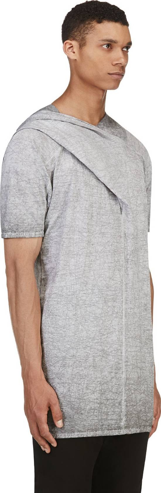 Julius Grey Scratch Hooded T-Shirt Size US L / EU 52-54 / 3 - 2