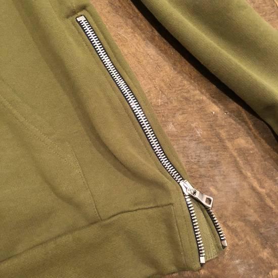 Balmain Balmain Side Zip Hoodie Olive Size US M / EU 48-50 / 2 - 3