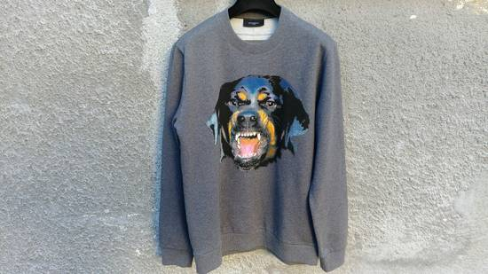 Givenchy Givenchy Grey Rottweiler Print Shark Bambi Star Men's Sweater size M (relaxed) Size US M / EU 48-50 / 2