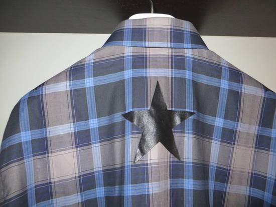 Givenchy Star-print plaid shirt Size US S / EU 44-46 / 1 - 4