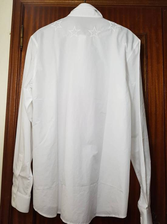 Givenchy Givenchy star embroidered shirt sz 40 Size US M / EU 48-50 / 2 - 2